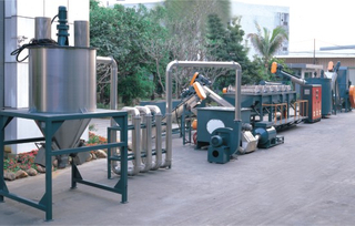 Automatic Film Washing Production Line