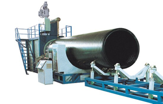 PE Large Caliber Twisted Pipe Extrusion Line