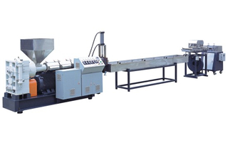 Plastic Recycling Compounding Pelletizing Machine
