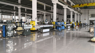 Braided Yarn Reinforced PVC Hose Extrusion Line